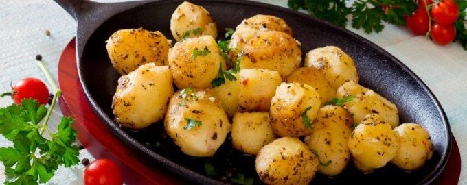 блюда с картошкой