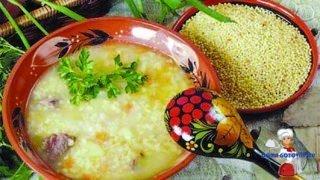 Постный суп с пшеном. Простой рецепт вкусного блюда!
