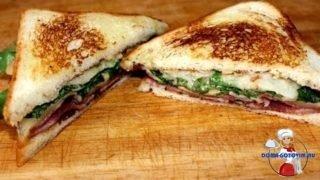 Необычный сэндвич с грушей