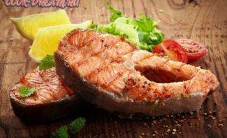 красная рыба в духовке 3