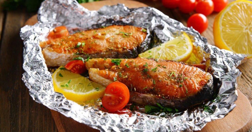 Рецепты красной рыбы, запеченной в духовке