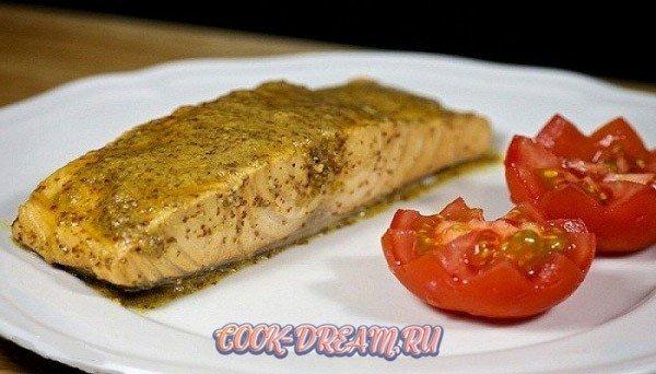красная рыба в духовке 7