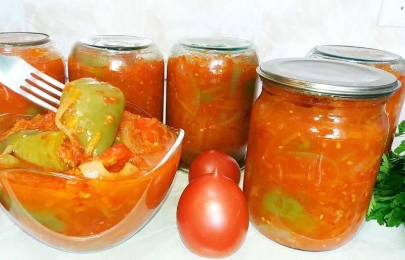 Рецепты лечо из помидор, перца, моркови и лука на зиму, приготовленные с маслом
