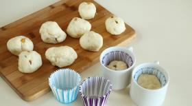 Мини-куличи, пошаговый рецепт с фото
