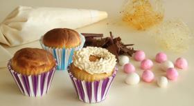 Пасхальные мини-куличи, рецепт с фото мини десерта
