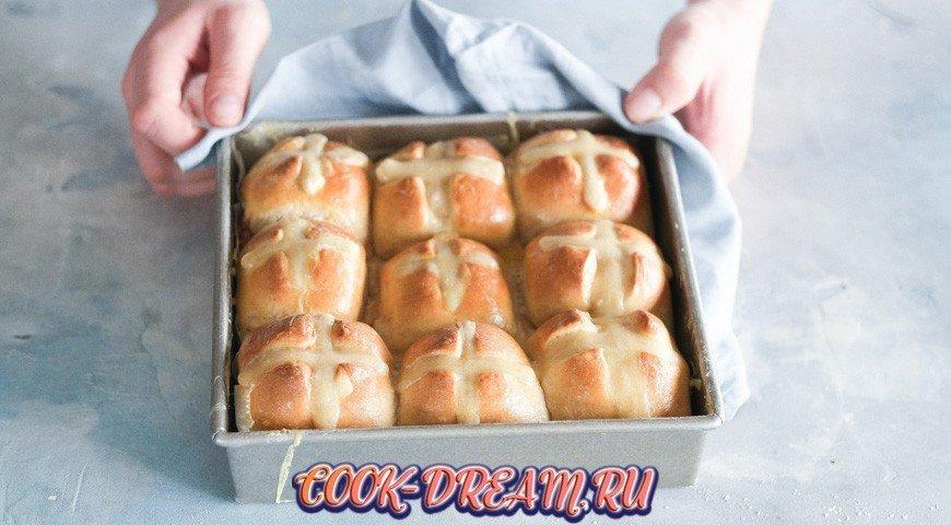 Пасхальные булочки, пошаговый рецепт с фото
