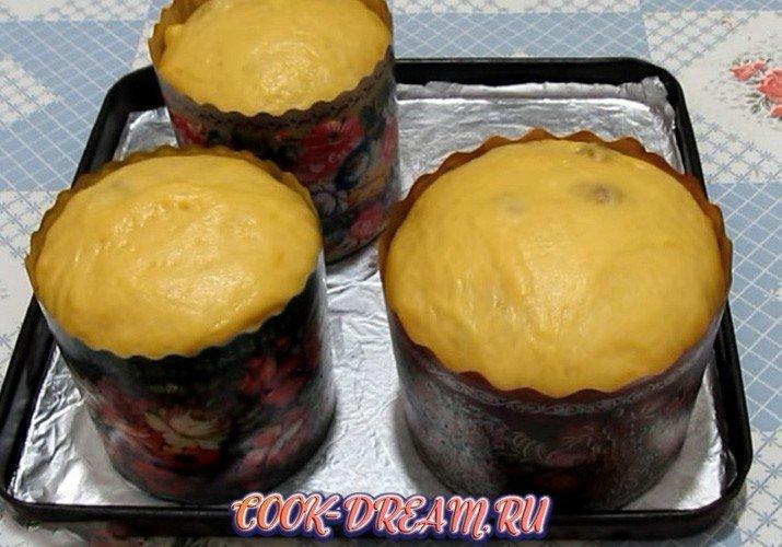 Кулич пасхальный от Алины Фламинго, пошаговый рецепт с фото