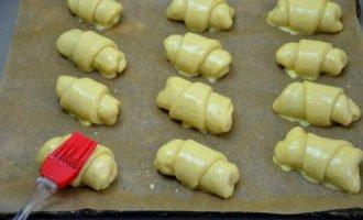 польские булочки перед выпечкой