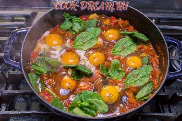 Пряный рататуй - рецепт приготовления в сковороде