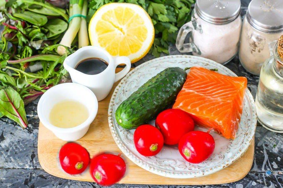 Тирадито - рецепт перуанской кухни из красной рыбы ингредиенты
