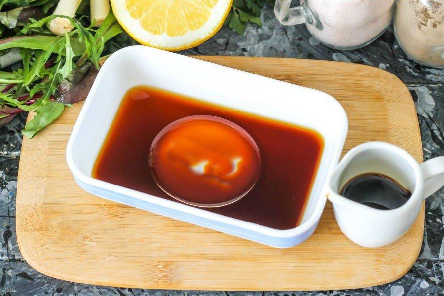 Тирадито - рецепт перуанской кухни из красной рыбы - подготовка