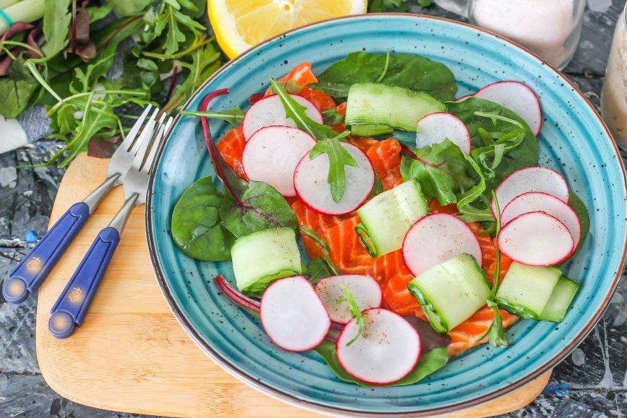 Тирадито - рецепт перуанской кухни из красной рыбы