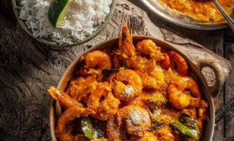 Рецепт креветки по шри-ланкийски в карри