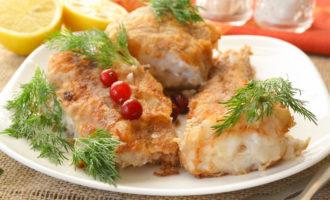 Рецепт жареного минтая на сковороде